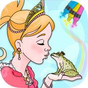 经典童话公主儿童画画游戏(3-6岁宝宝早教育儿益智软件)