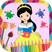 公主画 - 图画书绘制和油漆公主图片