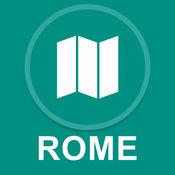 罗马,意大利 : 离线GPS导航