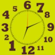 反转时钟(可设定)