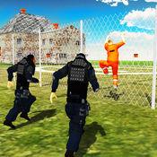 监狱警察追逐监狱