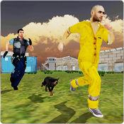 监狱警犬狗追逐sim 3D