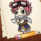 学习如何绘制赤壁动漫人物版 1