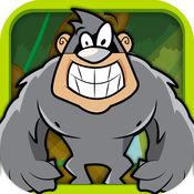 跑得快大猩猩运行 - 旱冰鞋骑士短跑冒险 FREE 1