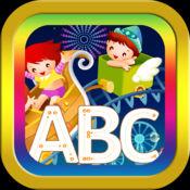 ABC 英语字母表为孩子书写或绘图