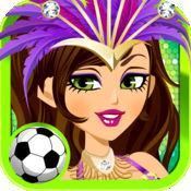 名模少女:足球世...