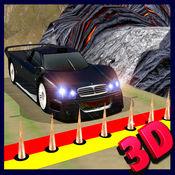高速车逃逸3D - 逃离通过危险的障碍和执行特技
