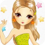 打扮小游戏为女孩 & 孩子免费-乐趣与时尚化妆美容美发弥补婚礼和公主