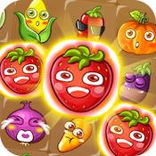 农场双连 - 蔬菜和水果快活