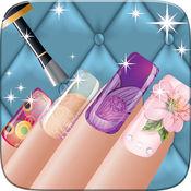 女孩-公主时尚指甲沙龙和美容 Spa 游戏修指甲美容设计和打扮