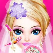 公主的时尚婚纱-甜心公主化妆换装游戏 1