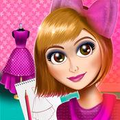 时装设计女孩游戏:公主服装设计师工作室和连衣裙沙龙