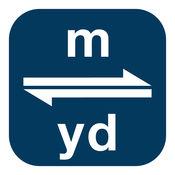 米换算为码 | m换算为yd