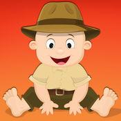 适合0-3岁儿童的免费迷你游戏——野生动物园、野生植物和