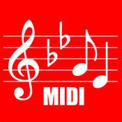 MIDI 乐谱 - 乐谱和MIDI播放器
