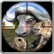野生动物动物狙击手狩猎:射击生存