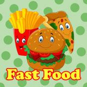 Fast Food Match 3 : 益智游戏为孩子 1