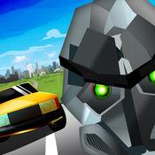 交通车手亚军机器人 - Sahin Abi Traffic Racer Runner Robot V2