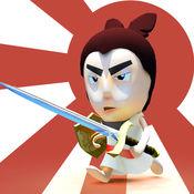 日本武士刀的战斗疯狂促