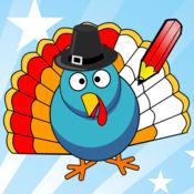 Thanksgiving Coloring Book : 图画书 感恩节为儿童 1