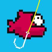 鱼钩 - 钓鱼飞溅墙 1