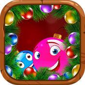 泡泡圣诞 - 免费泡泡龙射击游戏游戏佐贺男孩和女孩 5