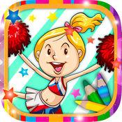 儿童画画涂色卡通动漫人物 – 3到8岁宝宝早教育儿软件