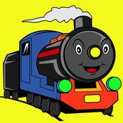 托马斯火车和汽车匹配 1