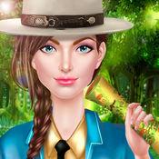 少女森林护卫 - 户外探险换装游戏