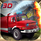 消防车爬山3D模拟器游戏