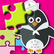 企鹅巴勃罗马达加斯加孩子的拼图