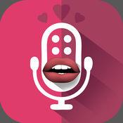 女孩的声音转换 – 听起来像女跟言语免费修饰符和录制应用