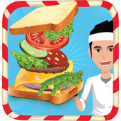 三明治机 - 疯狂快餐烹饪发烧和厨房游戏
