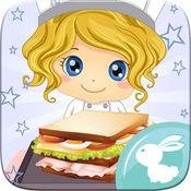三明治 制造商 烹饪 酋长 汉堡 早餐