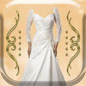 婚礼沙龙贴纸相机 – 时尚着装和化妆游戏同浪漫像框 1