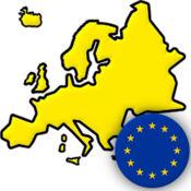 欧洲国家 - 地图,国旗, 首都城市