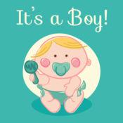 这是一个男婴! 党邀请卡 1
