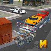 运动车运输卡车...