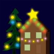圣诞灯 处处亮