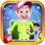 X光医生的手术 - 紧急外科手术。