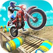 极限摩托车自行车骑士特技游戏2017