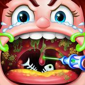 喉咙手术模拟 - 免费医生游戏