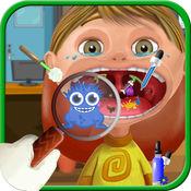 喉手术 - 根治疯狂口病人虚拟医生游戏