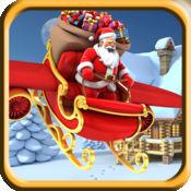 圣诞老人跳 - 圣诞节前的儿童礼物比赛 - 免费版 1.1