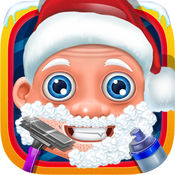 圣诞老人胡子沙龙 - 圣诞老人剃须日