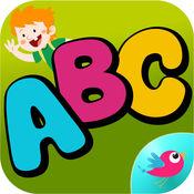 ABC童装学习字母表 - 跟踪和写作