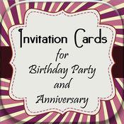 生日聚会&周年的邀请卡 1