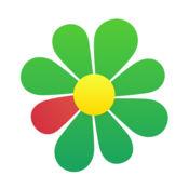 ICQ聊天室 — 视频聊天工具,使用过滤器和边框给朋友们打电话