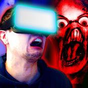 鬼狩猎 - 虚拟现实。 恶作剧