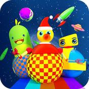 Timpy 机器人在空间-3D 机器人比赛的孩子们 1.1
